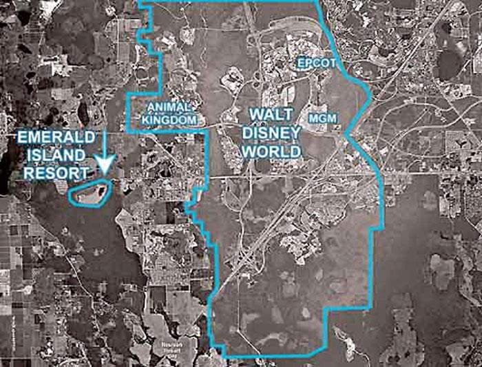 Vacation Home near Disney Map